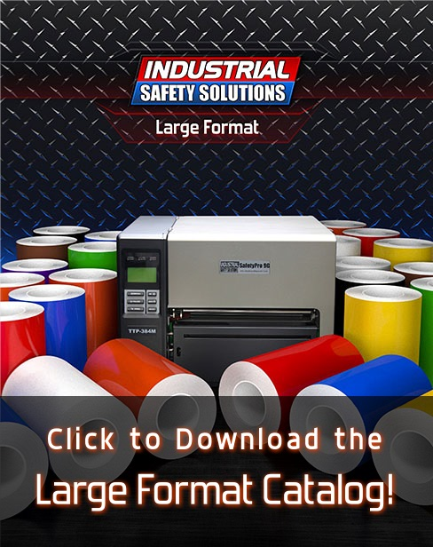 Large format labeling catalog