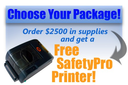 promotion order 2500 and get a safetypro free