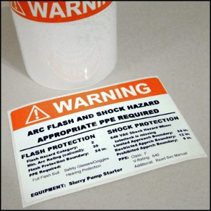 best arc flash labels in the industry