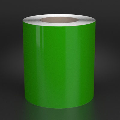 6in x 150ft Green 7G Vinyl Labeling Tape