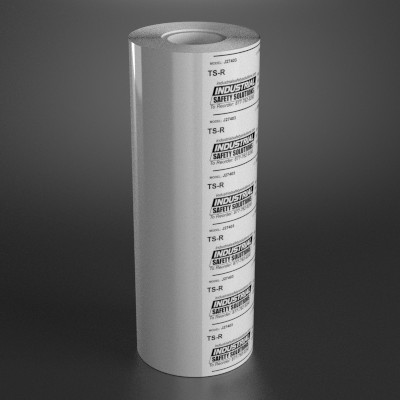 6.8in x 984ft White Wide Format Ribbon