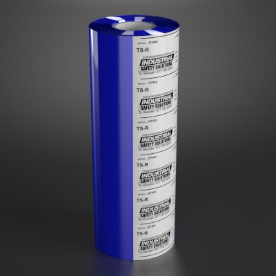 6.8in x 984ft Blue Wide Format Ribbon