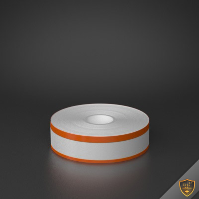 1in x 70ft Peak-Performance Continuous Double Orange Stripe