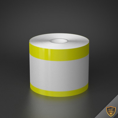 3in x 70ft Peak-Performance Continuous Double Yellow Stripe