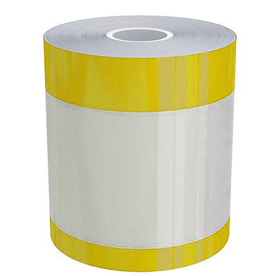 4in x 70ft Peak-Performance Continuous Double Yellow Stripe