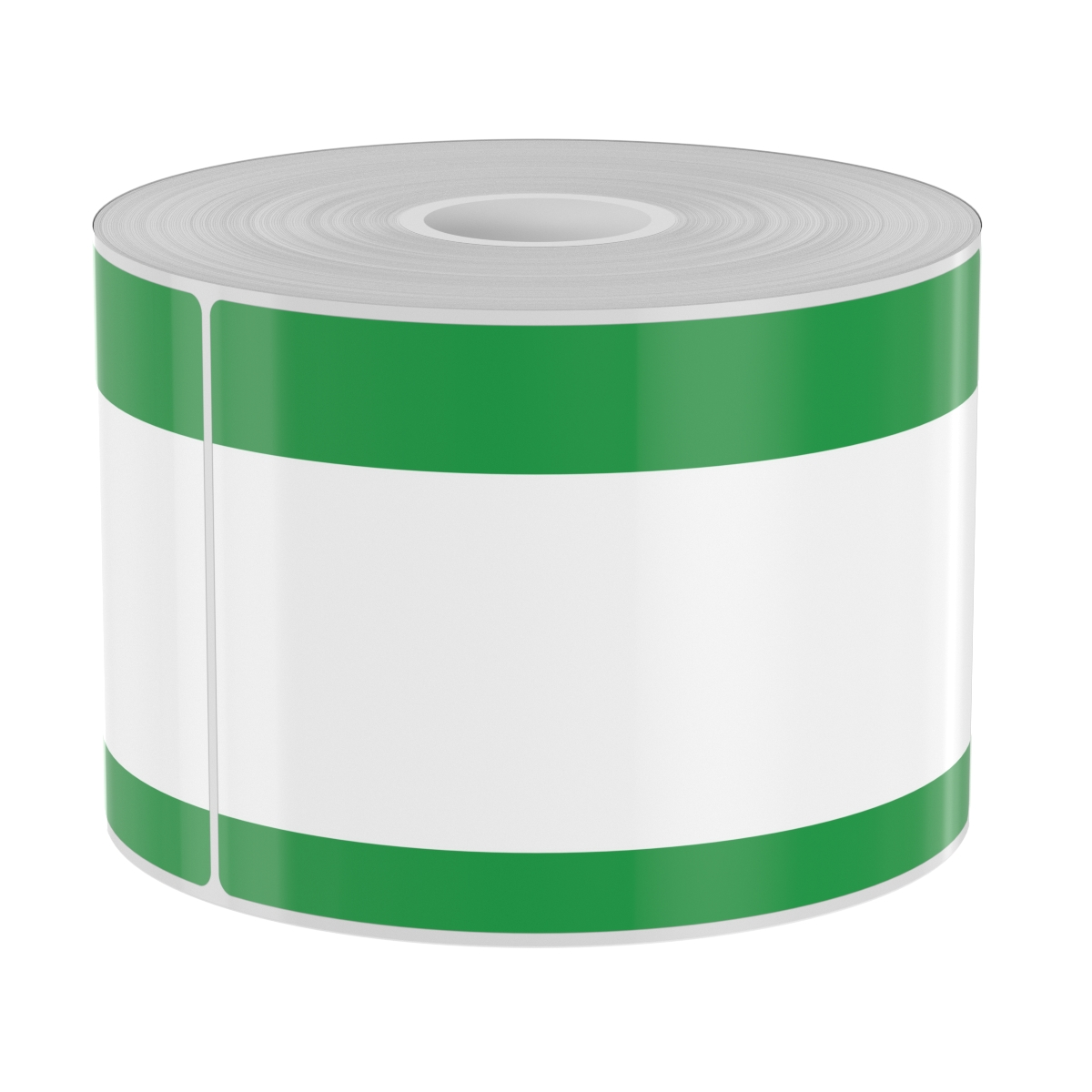 250 4in x 6in High-Performance Die-Cut Green Double Band