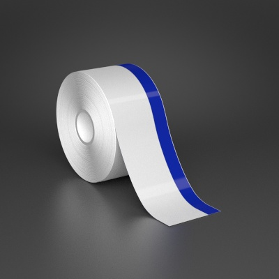 2in x 70ft Wire wraps with 0.5in printable blue stripe