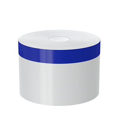3in x 140ft Peak-Performance Continuous Blue Stripe