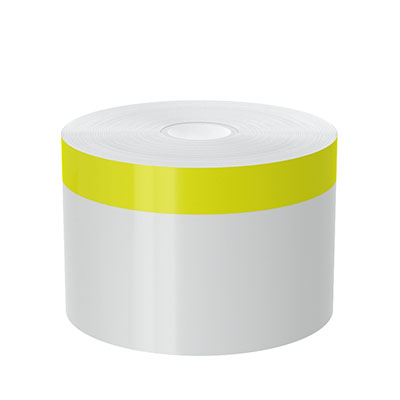 3in x 140ft Peak-Performance Continuous Yellow Stripe