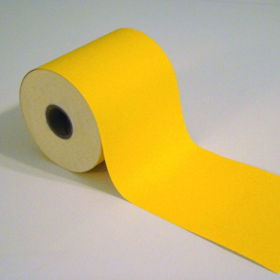 4in x 100ft Yellow freezer cold storage tape