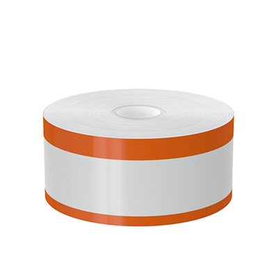 2in x 140ft Peak-Performance Continuous Double Orange Stripe