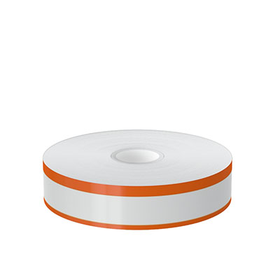 1in x 140ft Peak-Performance Continuous Double Orange Stripe