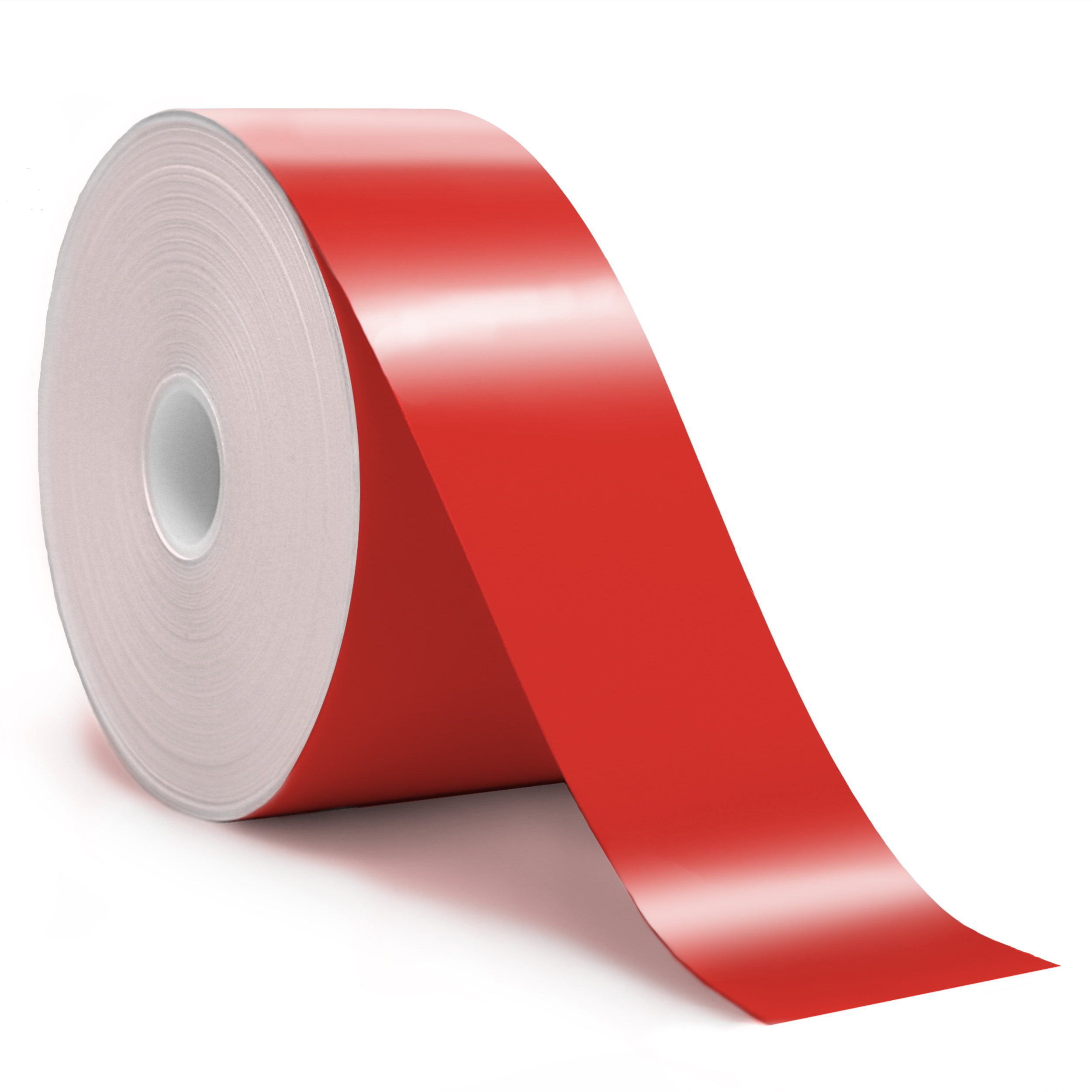 2in x 150ft Red premium vinyl tape