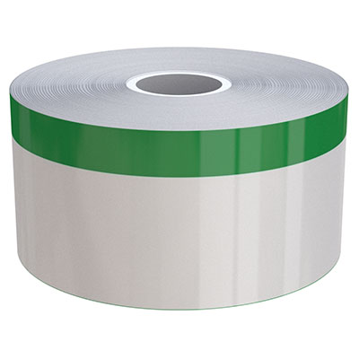 2in x 70ft Peak-Performance Continuous Green Stripe